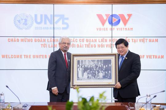 VOV hỗ trợ các cơ quan Liên hợp quốc hoạt động hiệu quả hơn tại Việt Nam