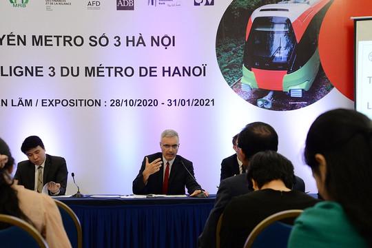 """Nét đặc biệt của """"giấc mơ"""" đường sắt đô thị Nhổn-ga Hà Nội dùng công nghệ Pháp"""