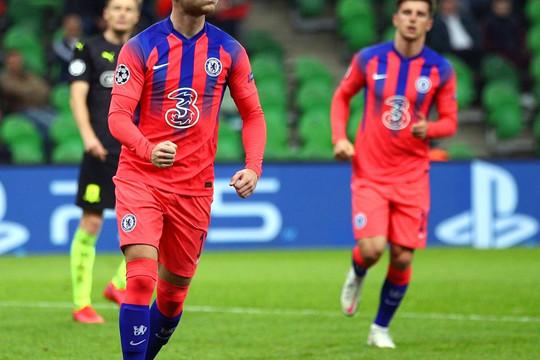 Jorginho đá hỏng 11m, Chelsea vẫn thắng đậm Krasnodar