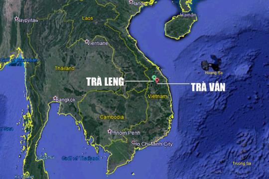 Ảnh vệ tinh 2 khu vực sạt lở kinh hoàng vùi lấp 53 người ở Nam Trà My