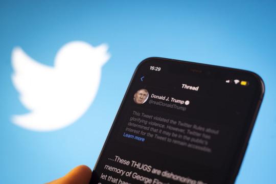 Ông Trump sắp mất quyền bảo vệ trước các lệnh cấm của Twitter