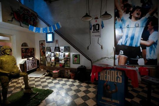 Bên trong căn nhà cũ của Diego Maradona
