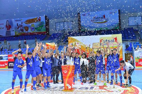 """Futsal HDBank Cúp Quốc gia: Thái Sơn Nam đăng quang sau trận """"chung kết trong mơ"""""""