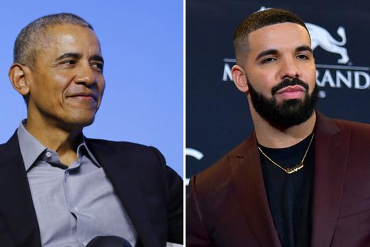 Barack Obama đồng ý, rapper Drake háo hức với vai diễn cựu tổng thống Mỹ