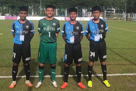 4 cầu thủ HAGL khoác áo đội bóng trẻ Nhật Bản