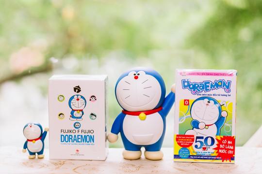 Ra mắt 2 ấn bản đặc biệt kỷ niệm 50 năm ngày Doraemon ra đời