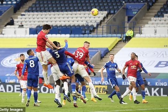 TRỰC TIẾP Leicester 1 - 2 MU: Bruno đưa Quỷ đỏ vượt lên