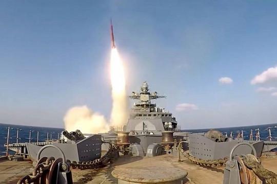 Khu trục hạm cũ thời Liên Xô được tân trang với 'siêu' tên lửa chống hạm Uran