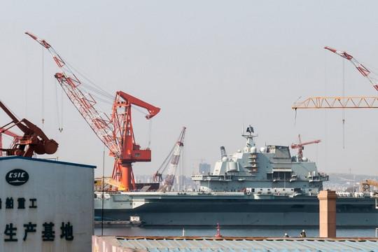 Trung Quốc nâng cấp nhà máy đóng 'siêu' tàu sân bay 100.000 tấn