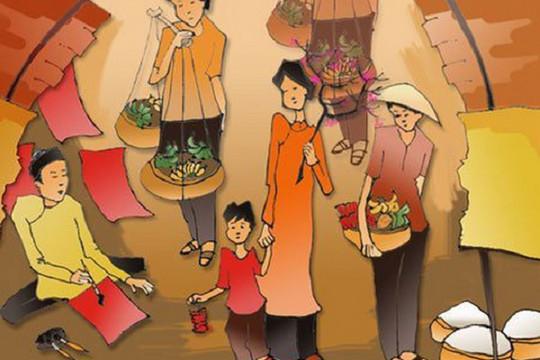 Hoài niệm Tết xưa: Tháng Chạp, mẹ thức đêm may áo mới