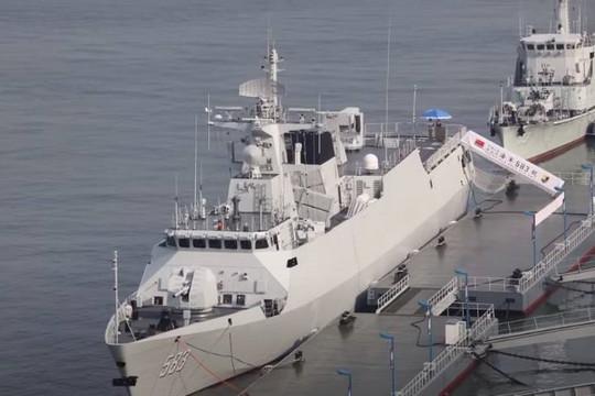 Trung Quốc đóng xong loạt tàu hộ tống Type-056/056A