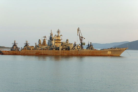 Nga chi 68 triệu USD 'xẻ thịt' tuần dương hạm hạt nhân lớn nhất thế giới