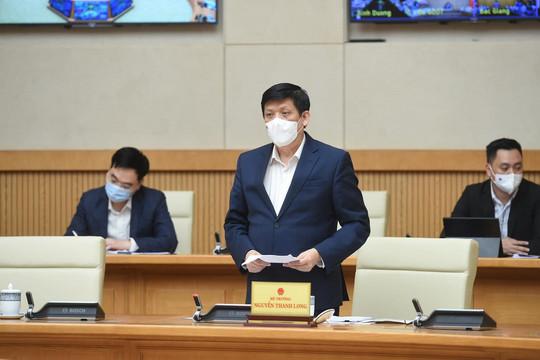 Bộ trưởng Y tế: 'Năm 2021 Việt Nam đảm bảo không thiếu vaccine COVID-19'