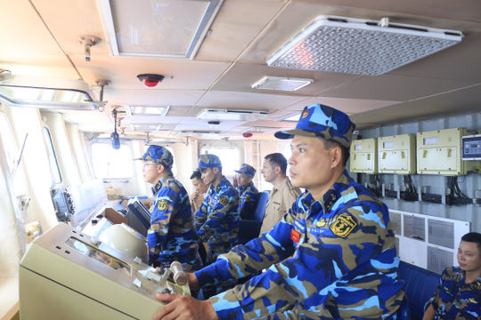 Tự hào những người lính tàu hộ vệ tên lửa đầu tiên của Việt Nam