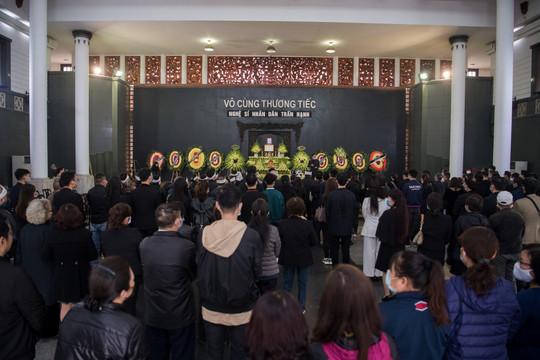 Gia đình, đồng nghiệp tiễn biệt NSND Trần Hạnh