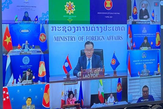 ASEAN ghi nhận quan ngại trước hành động đe doạ, cưỡng ép ở Biển Đông