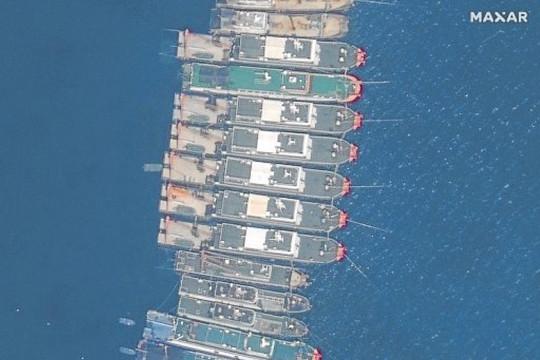 Dụng 'chiến lược vùng xám' ở đá Ba Đầu, Trung Quốc tái diễn vở kịch Scarborough?