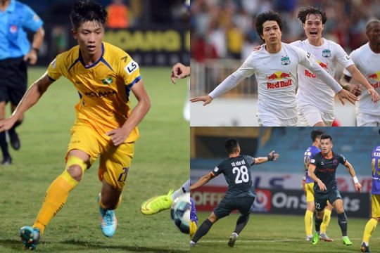 Văn Đức, Công Phượng bám sát Văn Toàn trong cuộc đua Vua phá lưới V-League 2021