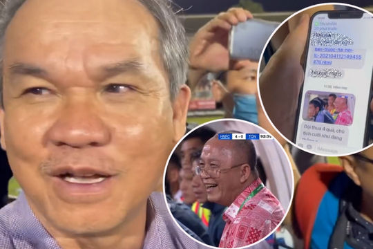 Bầu Đức nói vui về Chủ tịch CLB Than Quảng Ninh cười tươi khi đội nhà thảm bại