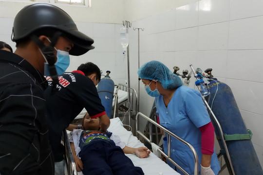 Đà Nẵng: 34 học sinh nhập viện do hít phải khí lạ từ đồ chơi