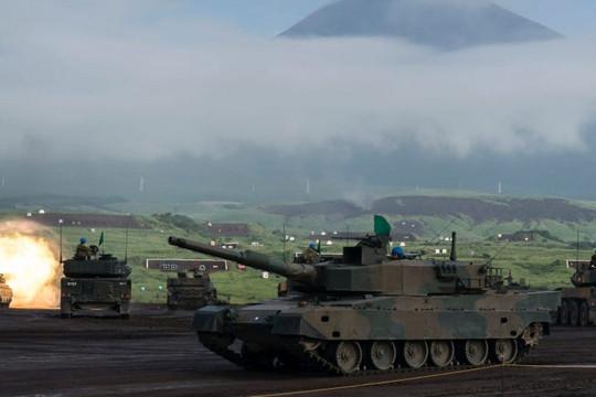 Lo ngại mối đe dọa từ Trung Quốc, Nhật Bản ráo riết cải tổ lực lượng tăng thiết giáp