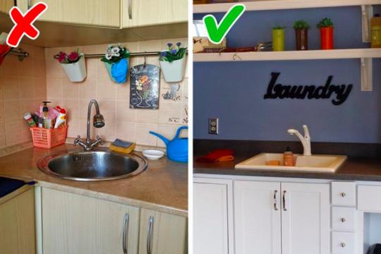Tránh mắc những sai lầm tai hại trong trang trí nhà bếp sau đây!