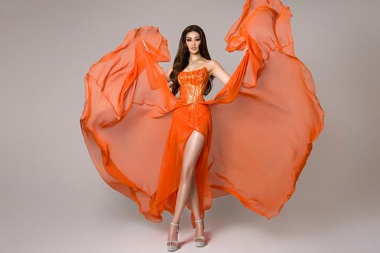 Cận cảnh trang phục dạ hội của Hoa hậu Khánh Vân tại bán kết Miss Universe