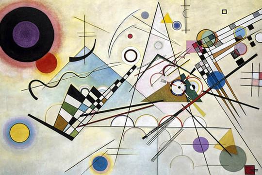 """Bán đấu giá bức họa """"bị mất tích"""" 70 năm của họa sỹ Kandinsky"""