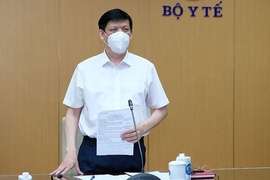 Bộ trưởng Y tế: Số ca COVID-19 ở Bắc Giang, Bắc Ninh chưa có dấu hiệu chững lại