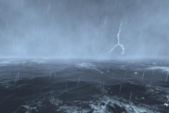 Áp thấp gây mưa rào và dông ở Hà Nội và Bắc bộ