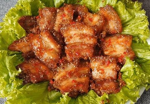 Món ngon mỗi ngày: Thịt ba chỉ rang sả ớt