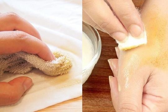 Mẹo tẩy vết nghệ  trên da, quần áo và bát đĩa