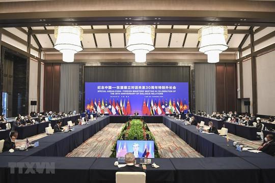 ASEAN - Trung Quốc nhất trí kiềm chế hoạt động gây phức tạp Biển Đông
