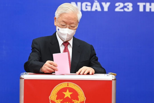 Công bố danh sách 499 người trúng cử đại biểu Quốc hội khoá XV