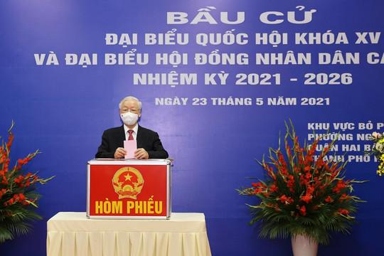 Danh sách 29 người trúng cử đại biểu Quốc hội khoá XV ở Hà Nội