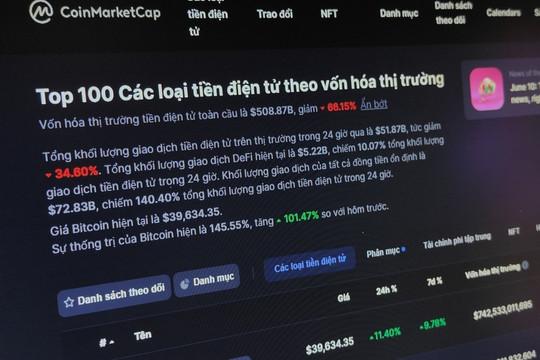 Website tiền số lớn nhất thế giới đang lỗi, nhà đầu tư hoảng loạn