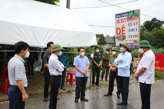 Khởi tố vụ án làm lây lan dịch ở Hương Sơn, Hà Tĩnh