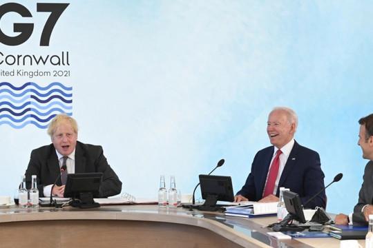 G7 đưa ra sáng kiến Tái thiết Thế giới B3W ứng phó BRI của Trung Quốc có lỗi thời?