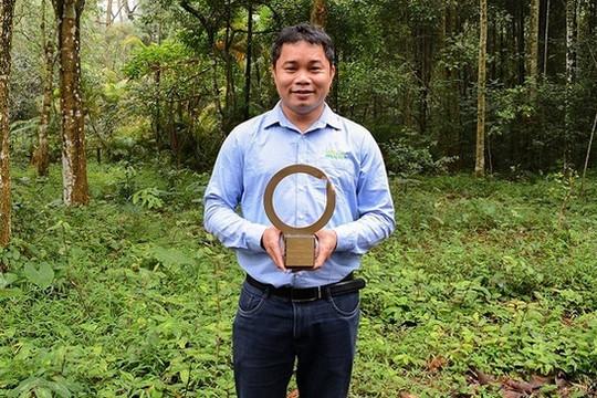 Người Việt đầu tiên được trao giải 'Nobel Môi trường'