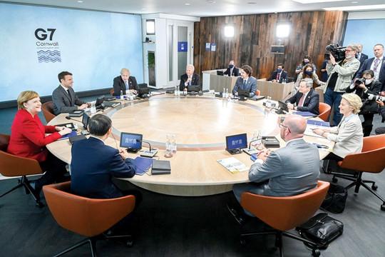 Tuyên bố đanh thép của G7 có đủ sức răn đe Trung Quốc?