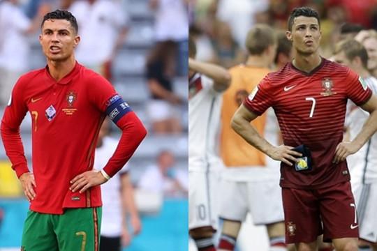 Cristiano Ronaldo 5 lần thất bại trước ĐT Đức ở EURO và World Cup