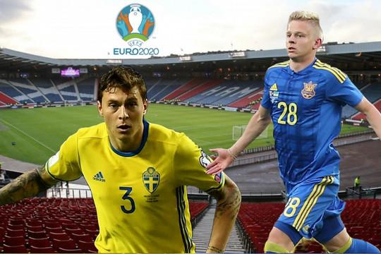 Trực tiếp Thụy Điển vs Ukraine: Tấm vé tứ kết EURO 2021 dành cho ai?