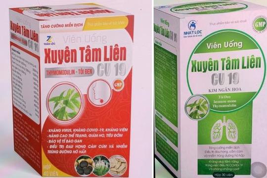 Thực phẩm 'kháng COVID-19' nghi bị làm giá: Quản lý thị trường vào cuộc kiểm tra