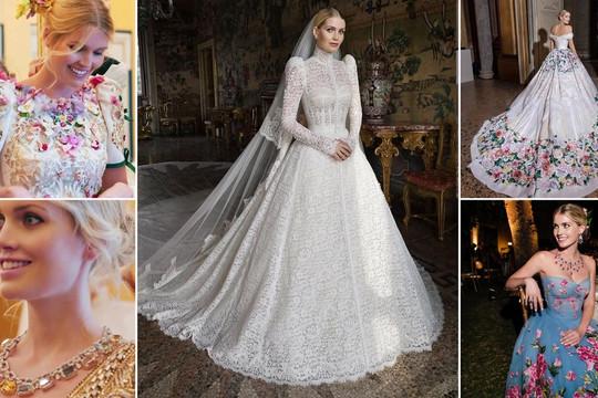Chiêm ngưỡng váy cưới lộng lẫy của cháu gái Công nương Diana