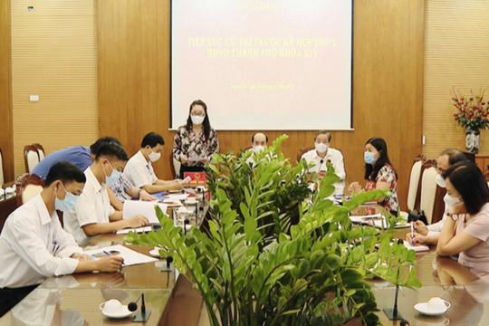 Hoãn tiếp xúc cử tri trước kỳ họp thứ hai HĐND thành phố Hà Nội