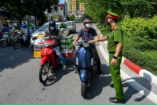 Tuyệt đối không để người dân di chuyển ra ngoài địa bàn Hà Nội trong thời gian giãn cách