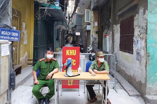 Thêm 16 F0 mới, Hà Nội ghi nhận 73 ca mắc COVID-19 trong ngày 1/8